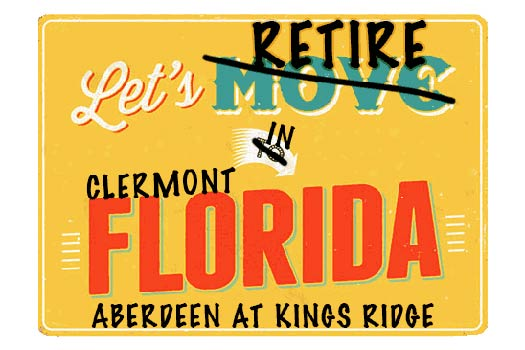 Clermont Aberdeen at Kings Ridge Homes For Sale webpage header