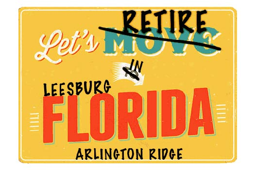 Leesburg Arlington Ridge Homes For Sale webpage header