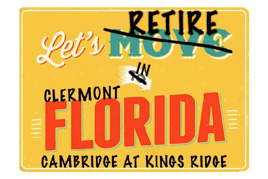 Clermont Cambridge at Kings Ridge Homes For Sale webpage header