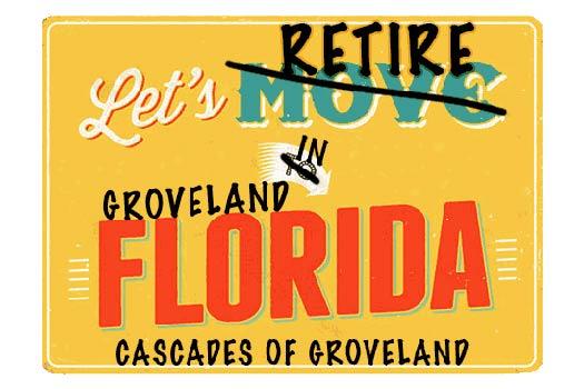 Cascades Of Groveland Homes For Sale webpage header