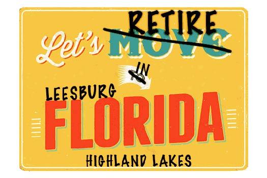 Leesburg Highland Lakes Homes For Sale webpage header