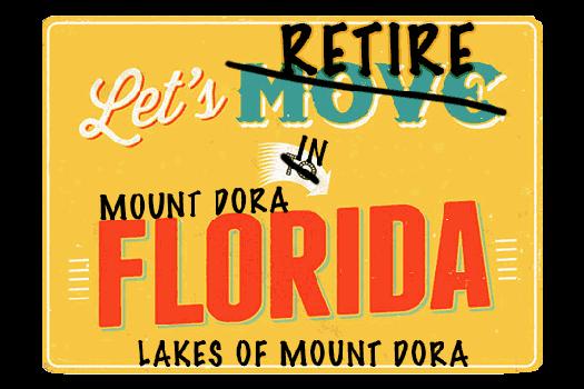 Lakes of Mount Dora webpage header