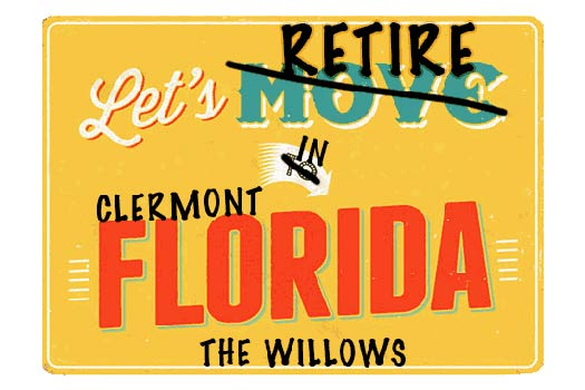 Clermont The Willows Homes For Sale webpage header