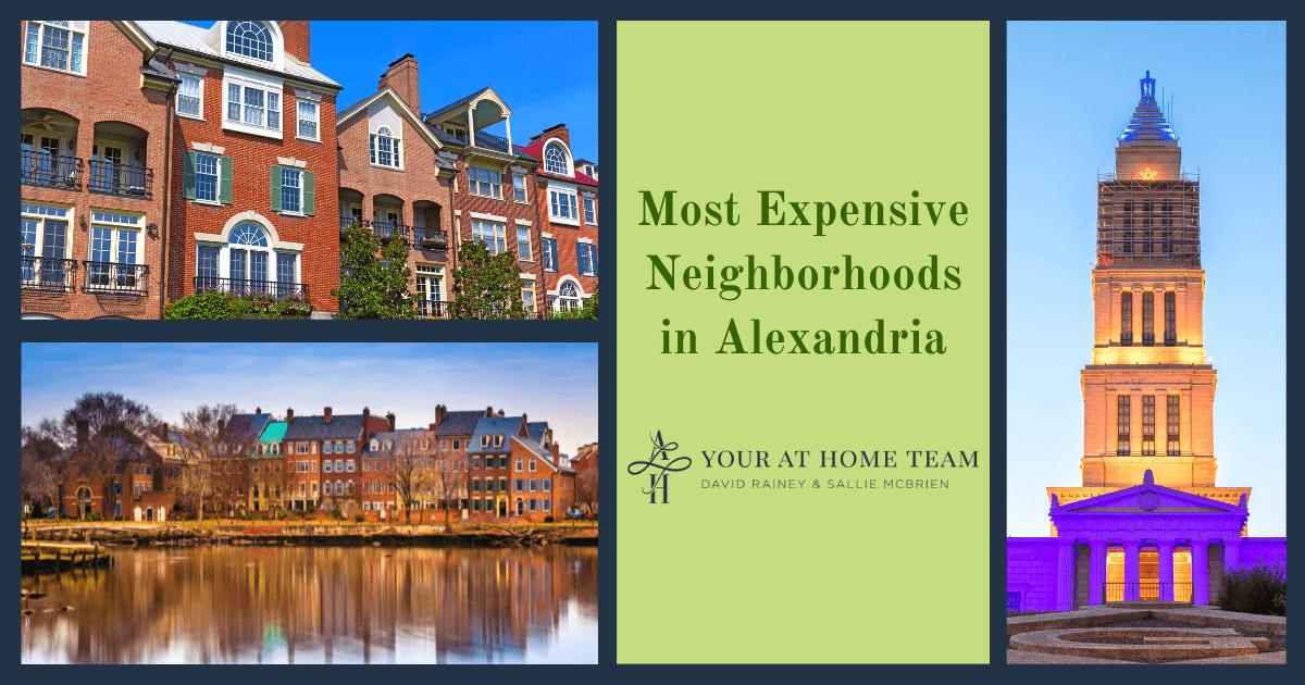 Alexandria Most Expensive Neighborhoods