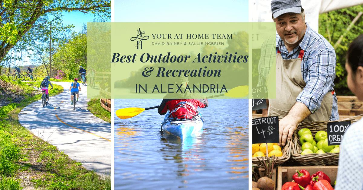 Best Outdoor Activities in Alexandria