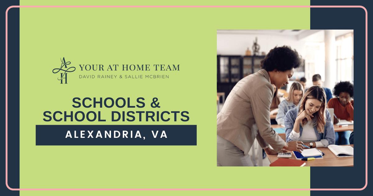 Schools and School Districts in Alexandria