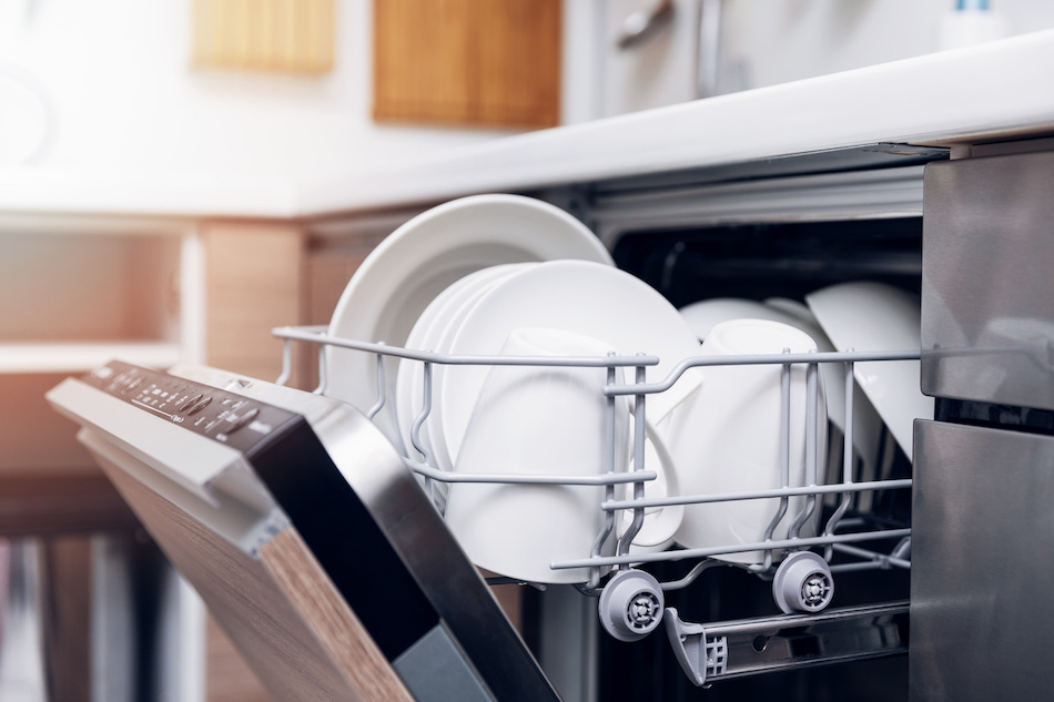 Dishwasher With Hard Water