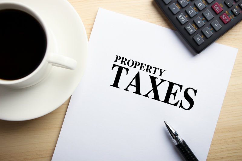 New Real Estate Property Tax Rates