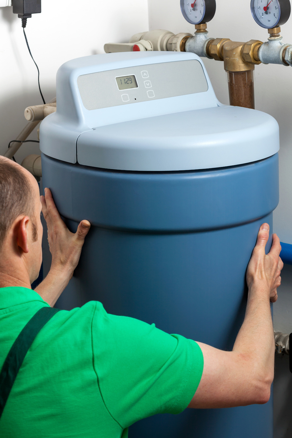 Installing a Water Softener at Home