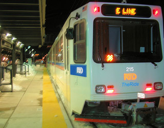 Denver Light Rail - Image Credit: https://www.flickr.com/photos/bike/341990045