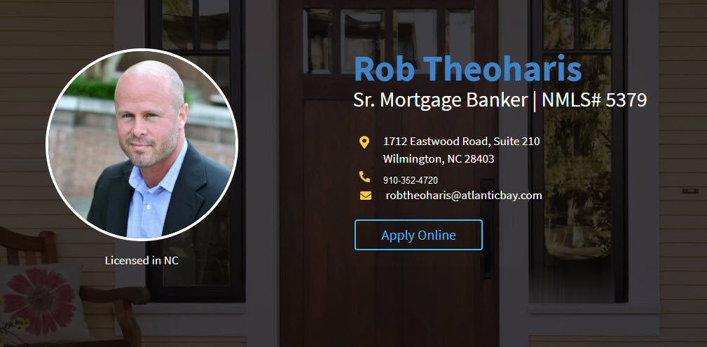 Rob Theoharis Sr. Mortgage Banker