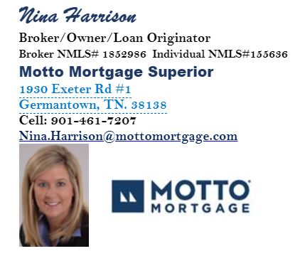 Nina Harrison Motto Mortgage Superior