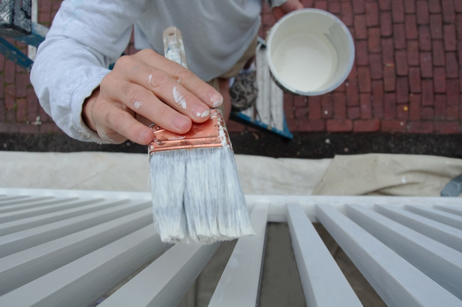 repainting to sell home