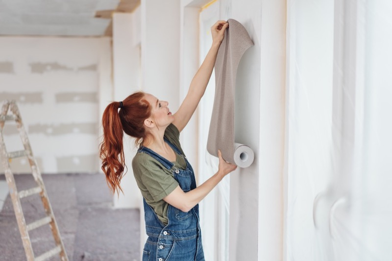 How to Put Up New Wallpaper