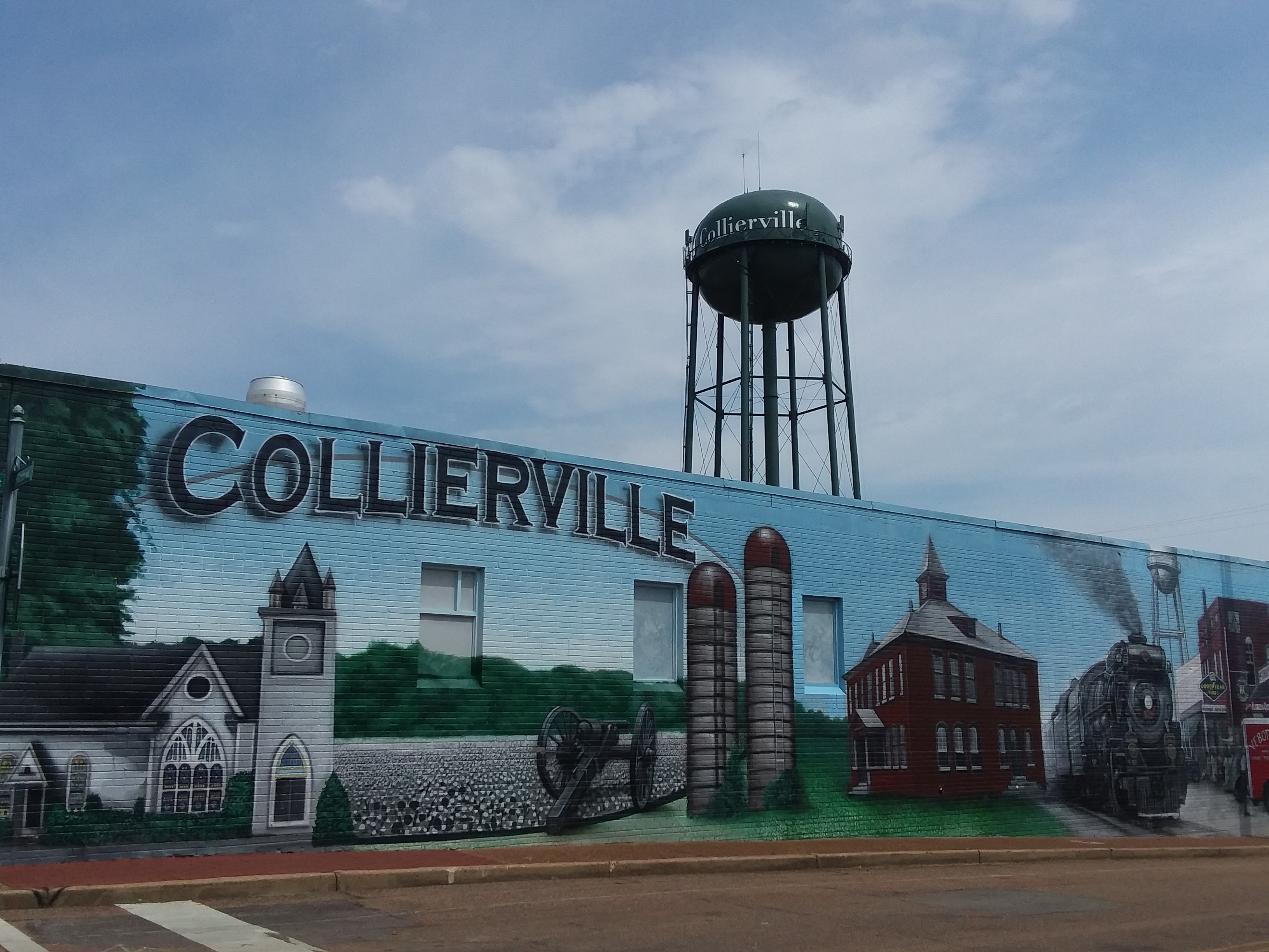 Downtown Collierville located near single family homes for sale in Collierville, TN