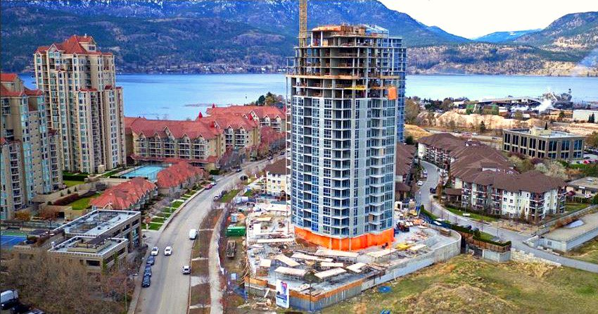 1151 Sunset Drive under construction