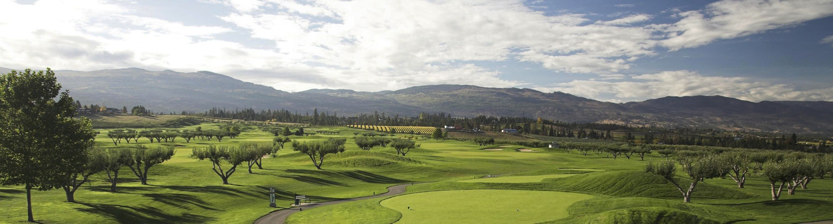 Harvest Golf Course panoramic