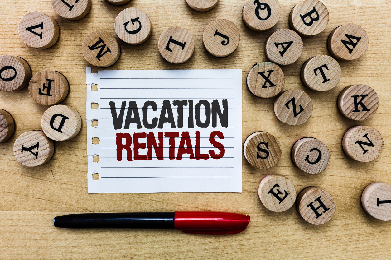 Vacation Rental on Paper