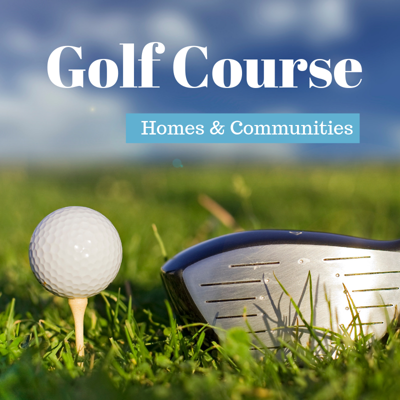Golf Course homes for sale in Knoxville TN