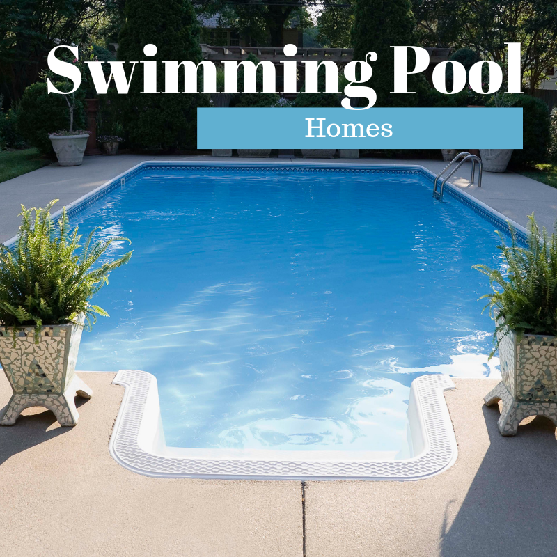 Swimming Pool Homes For Sale in Knoxville TN