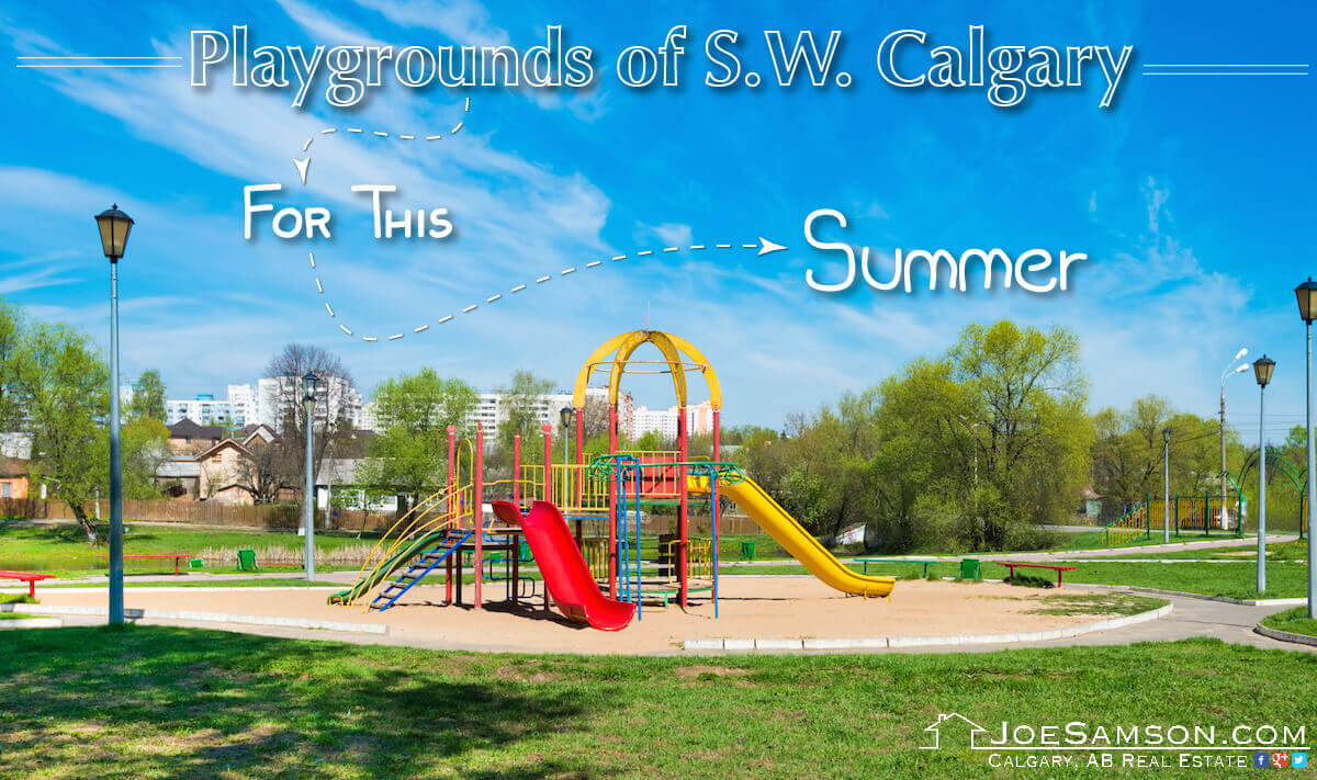 Playgrounds in SW Calgary