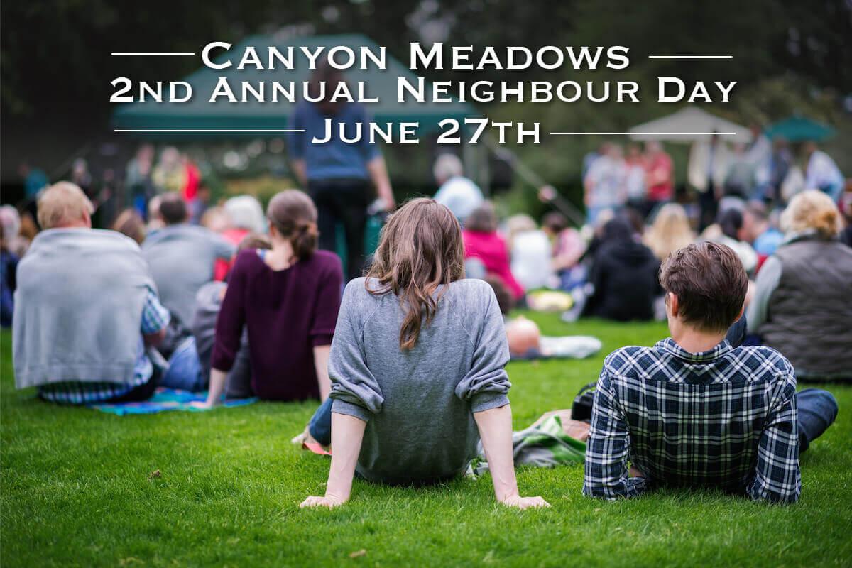 Canyon Meadows Neighbour Day