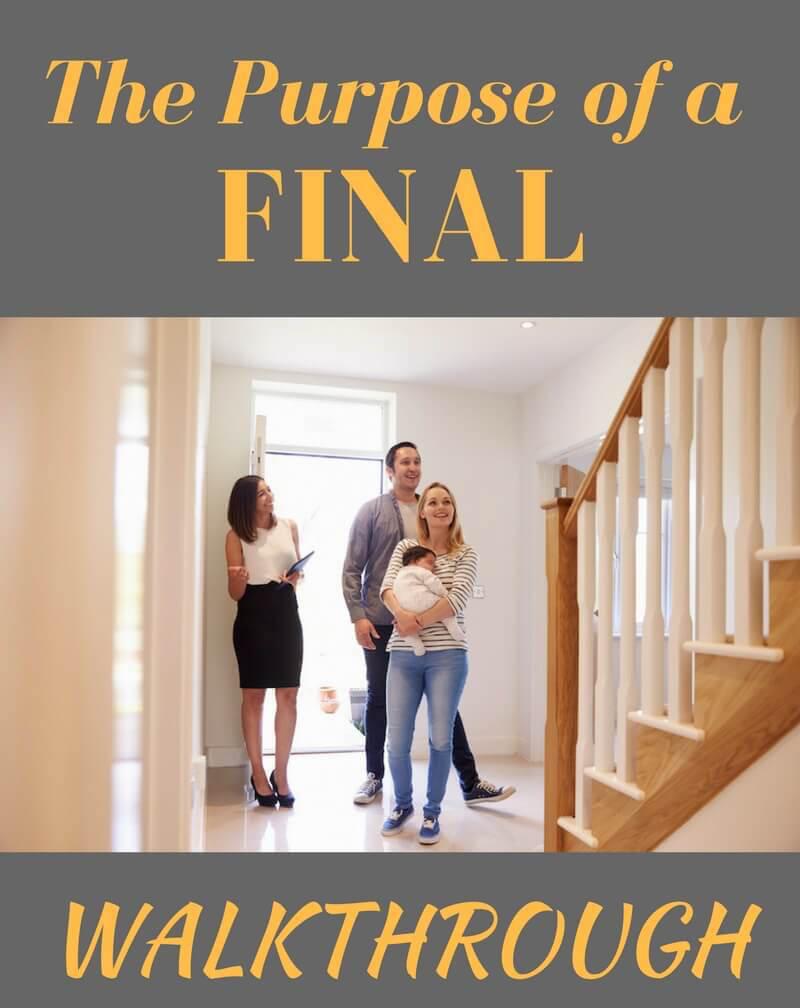 Final Walkthrough in Real Estate