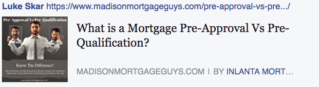 Mortgage pre-approval vs. pre-qualification