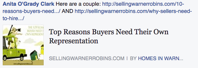 Why buyers need to be represented