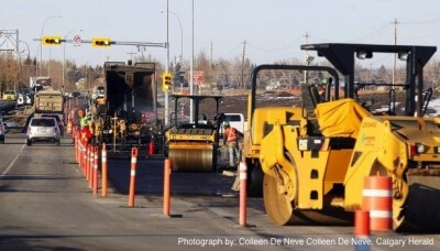 Calgary Ring Road Construction