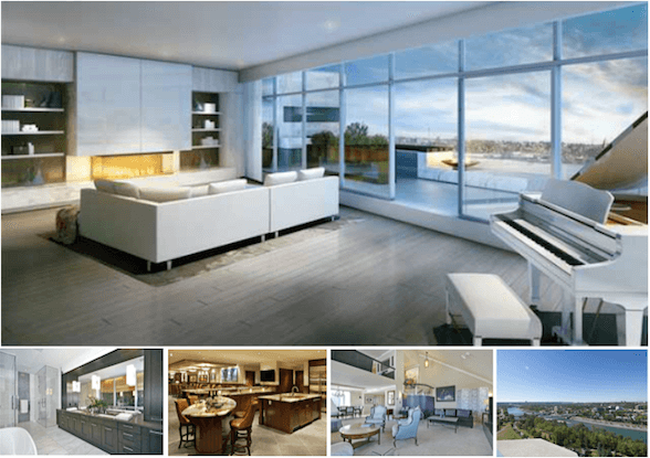 Top 5 Most Expensive Condos in Calgary - October, 2014