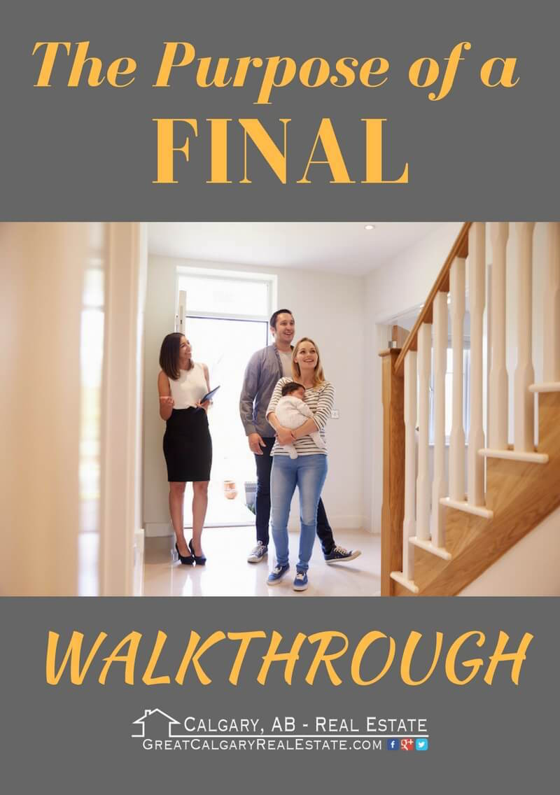 Final Walkthrough in Real Estate