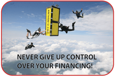 Stay in control of your financing approval