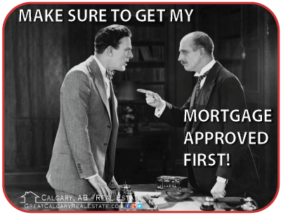 Getting a mortgage approved