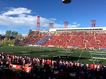 Calgary Stampeders Football Team - Macmahom Stadium