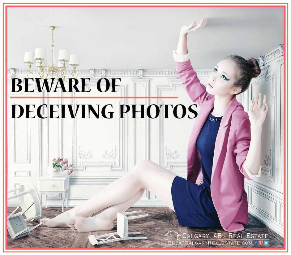 Beware of deceiving real estate photos