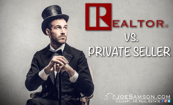 Real Estate Agent vs private seller