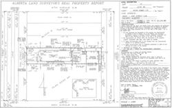Real Property Report - Calgary