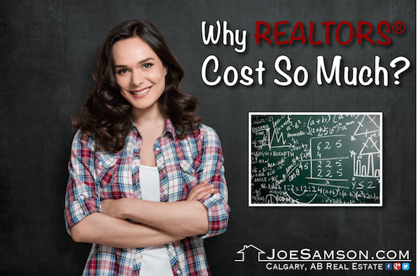 why realtors cost so much