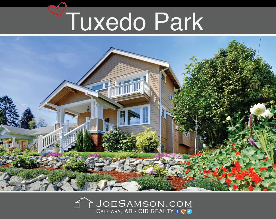 House in Tuxedo Park, Calgary.