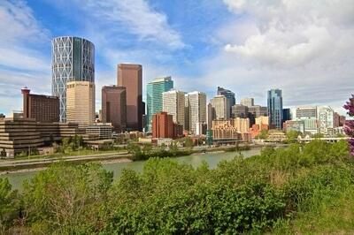 Downtown Calgary Sky scrapers
