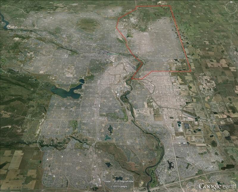 NE Calgary Subdivision
