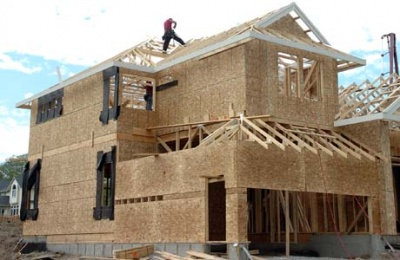 Home construction in Calgary