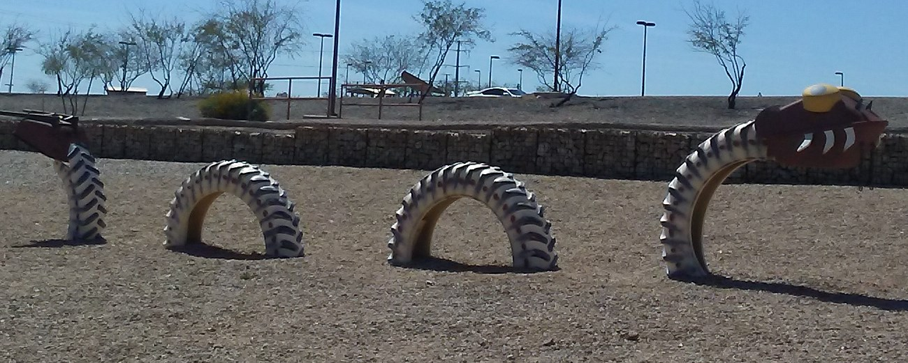 Chandler AZ Paseo Vista Park Dragon