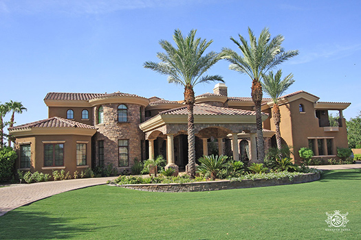 A home in Circle G Ranches in Gilbert, Arizona