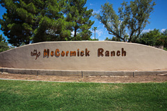 McCormick Ranch Entrance
