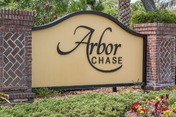 Arbor Chase Community sign