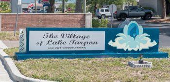 lake tarpon villas condo sub sign