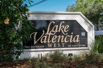 Lake Valencia Sub Sign