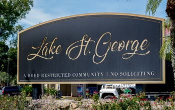 Lake st George Sub Sign